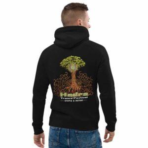 Sweat à capuche unisexe HTF 2020 Tree - Noir
