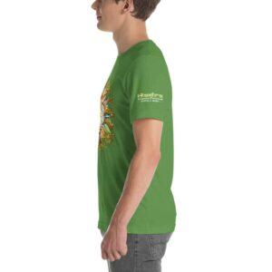 T-shirt Unisexe HTF 2020 Flower - Vert Gazon / Leaf