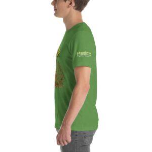 T-shirt Unisexe HTF 2020 Tree - Vert Gazon
