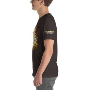 T-shirt Unisexe HTF 2020 Flower - Marron / Brown